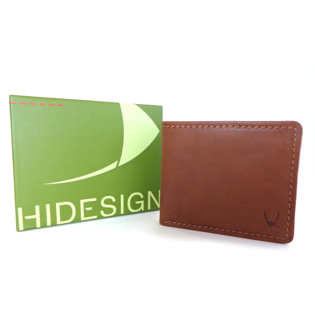 Hidesign Wallet - Style: 269-2021S Tan