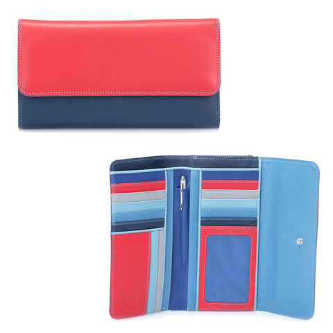 Mywalit Tri-fold Purse - Style 269-127 Royal