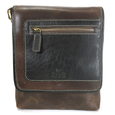 Rowallan Driftwood Leather Unisex Bag - Style: 31-1417  Brown