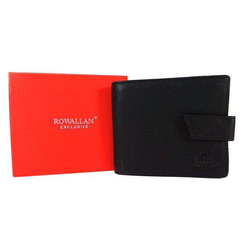 Rowallan Harvard Collection - Leather RFID Tab Wallet - Style: 33-9434
