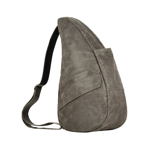 Healthy Back Bag  - Vintage Canvas Brown Medium - With Tech Pocket - Style: 4104-BR