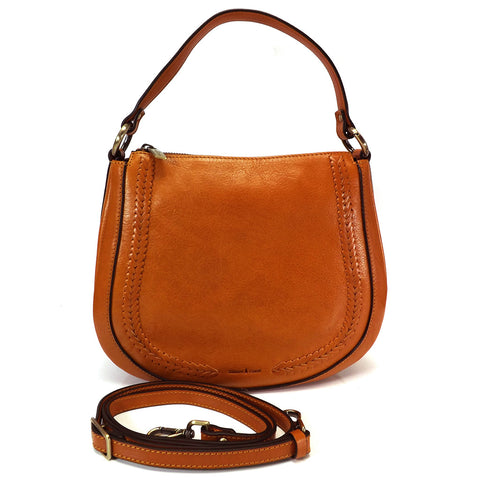Gianni Conti Multi Way Bag - Light Tan - Style 9416132