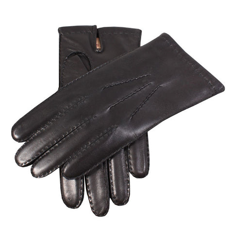 Dents Chelsea  Mens 100% Cashmere Lined Handsewn Leather Gloves - Style: 51542