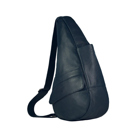 Healthy Back Bag  - Leather S - Navy - Style: 5303-NV