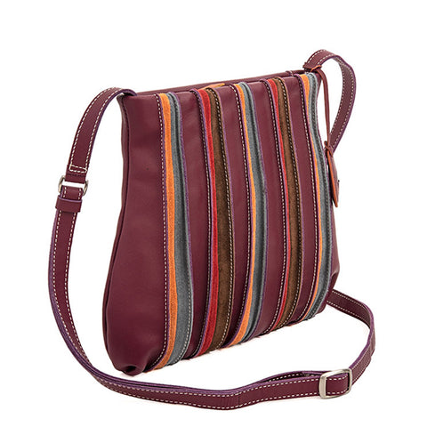 Mywalit Medium Cross Body Bag - Style 606-136 Chianti