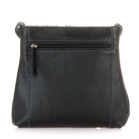Mywalit Medium Cross Body Bag - Style 606-3 Black
