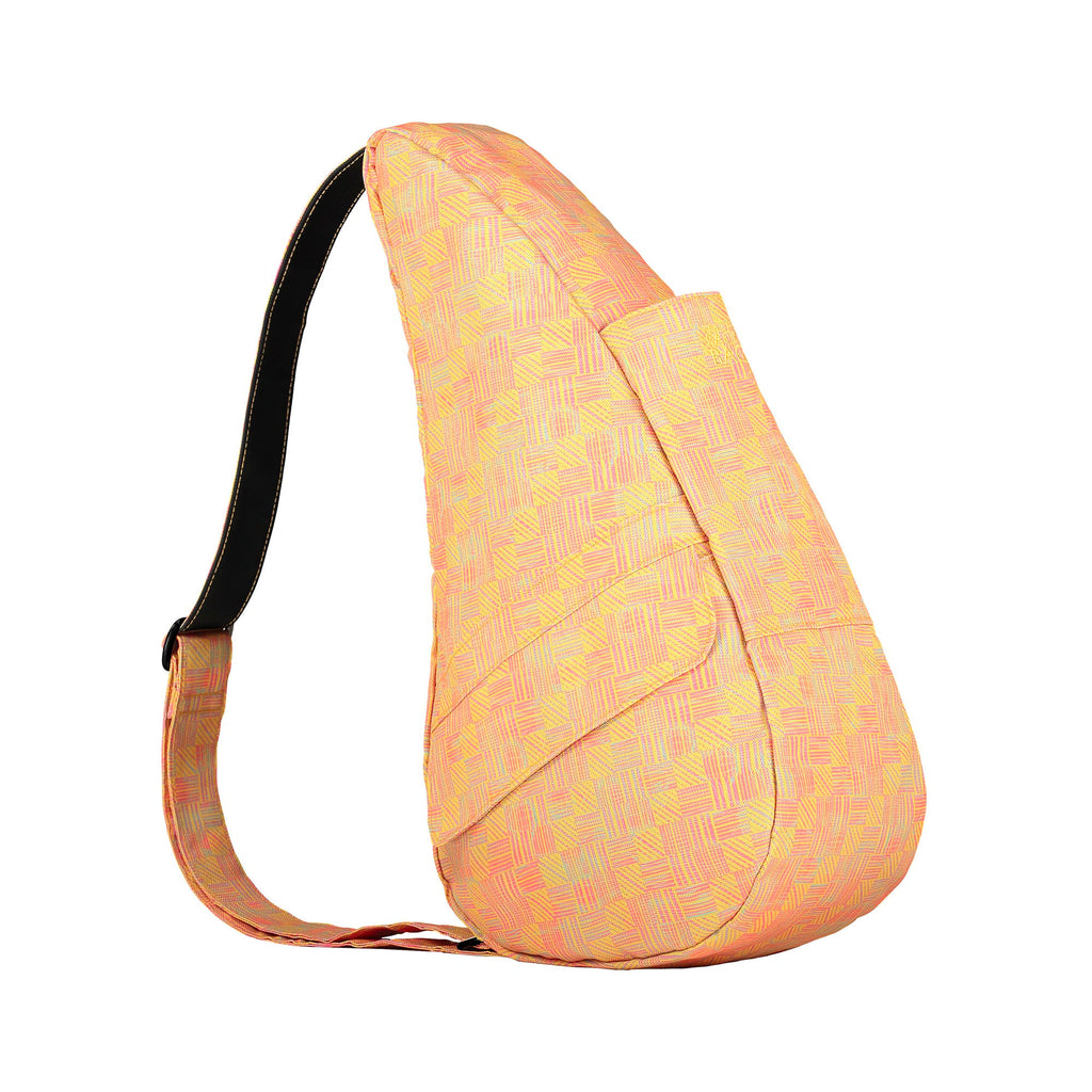 Healthy Back Bag  - Retro Check Yellow S - With Tech Pocket - Style: 6163-YE