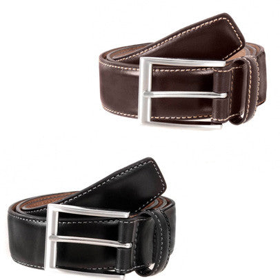 Dents - Full Grain Leather Belt - 35mm wide - Black or Brown