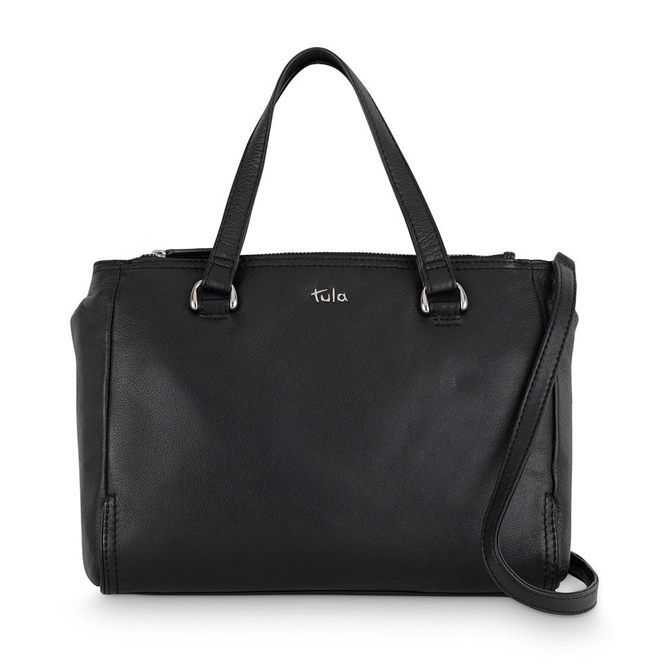 Tula Nappa Originals Medium Zip Top Grab Bag - Style: 8477 Black