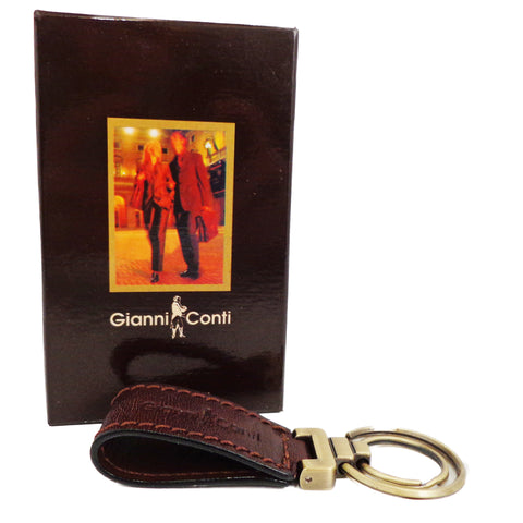 Gianni Conti Leather Key Fob - Style: 9409745
