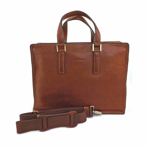 Gianni Conti Double Gusset Briefcase - Style: 911248
