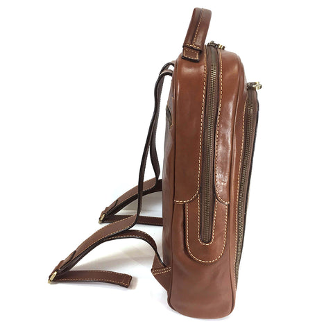 Gianni Conti Smart  Leather Rucksack - Style: 912152