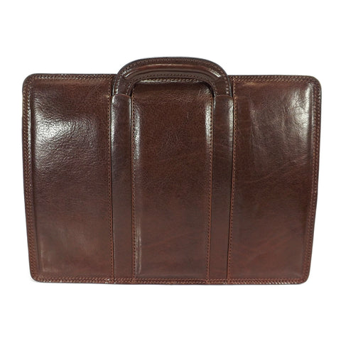Gianni Conti Slim Leather Briefcase - Style: 9401034