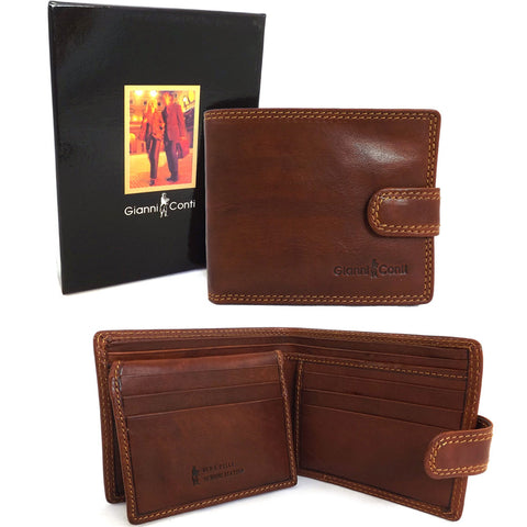 Gianni Conti RFID Tab Wallet - Style: 917075