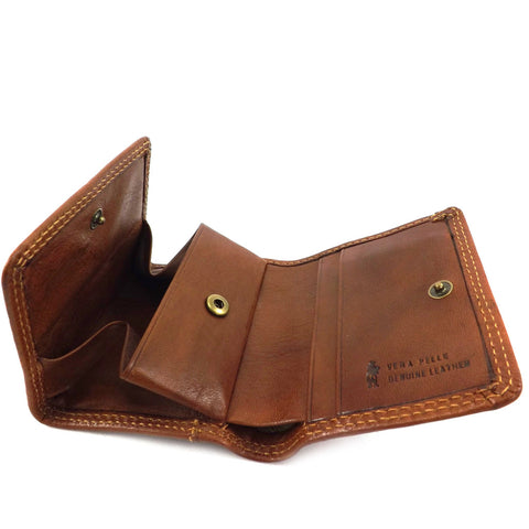 Gianni Conti Leather Tray Purse Wallet - Style: 918101