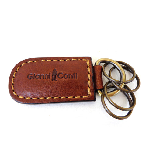 Gianni Conti Leather Key Fob - Style: 919169