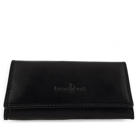 Gianni Conti Leather Key Case - Black - Style: 919707