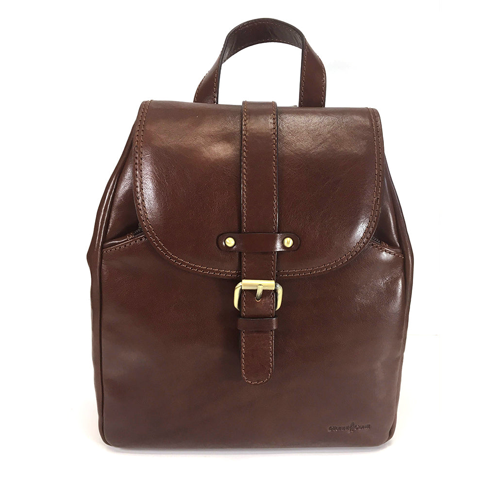 Gianni Conti Smart Leather Rucksack - Style: 9403067