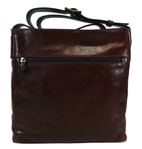 Gianni Conti Long Handle Shoulder Bag - Style: 9403444 Brown