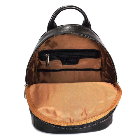Gianni Conti Smart Leather Rucksack - Style: 9403695 - Black