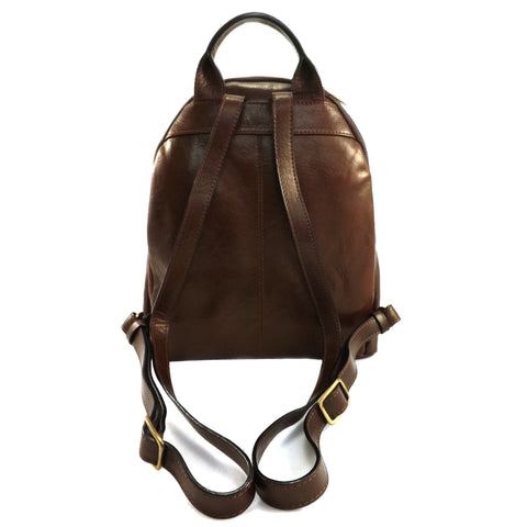 Gianni Conti Smart Leather Rucksack - Style: 9403695 - Brown
