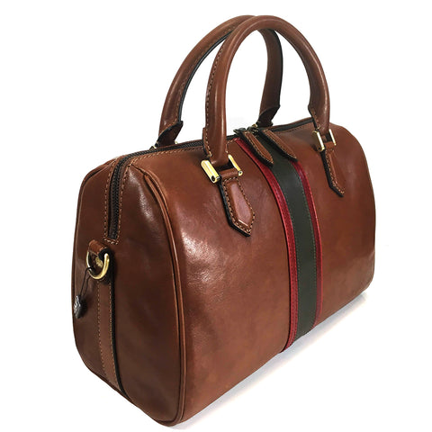 Gianni Conti Medium Grab Handle / Multiway Bag - Style: 973865 - Tan Multi