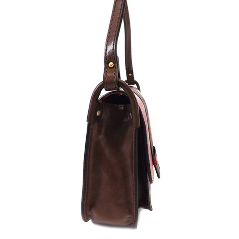 Gianni Conti Flap Front Shoulder Bag - Style: 973878