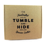 Tumble and Hide Leather Trouser Wallet - Style: TH2109 CHK - Black