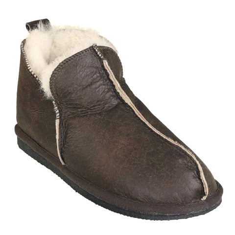 Shepherd Sheepskin Bootee Slipper - Style: Anton 4921 Oiled Antique