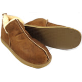 Shepherd Sheepskin Bootee Slipper - Style: Anton 4921 Antique Cognac - FREE Dasco Protector Spray