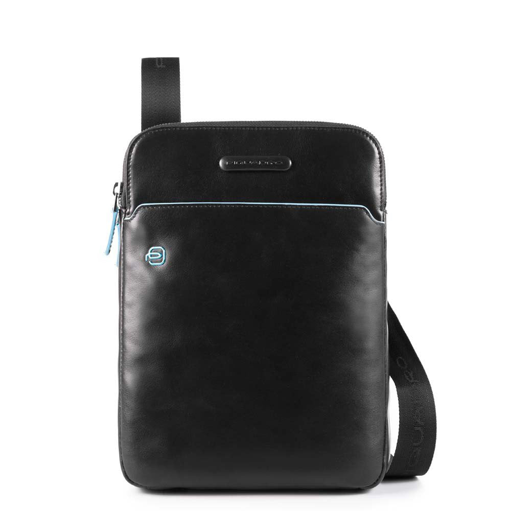 Piquadro Cross Body Bag with Padded Tech Pocket CA3978B2 Black