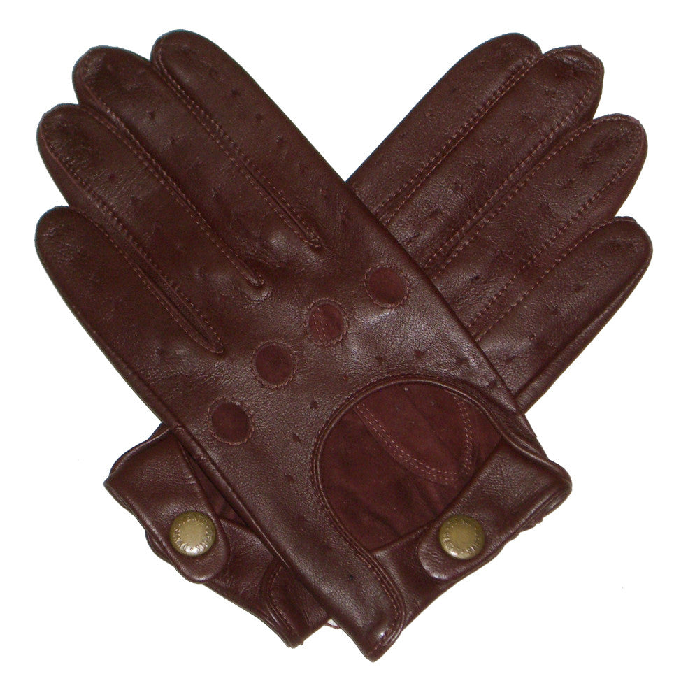 Dents Delta Mens Classic Leather Driving Gloves - Style: 5-1011