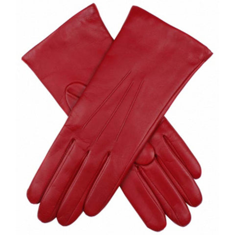 Dents Isabelle Berry Women's 100% Cashmere Lined Leather Gloves - Style: 71134