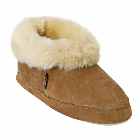 Shepherd Sheepskin Bootee Slipper - Style: Emmy 924 Chestnut
