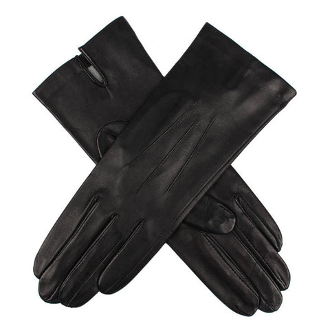 Dents Felicity Women's Silk Lined Leather Gloves - Style: 71049