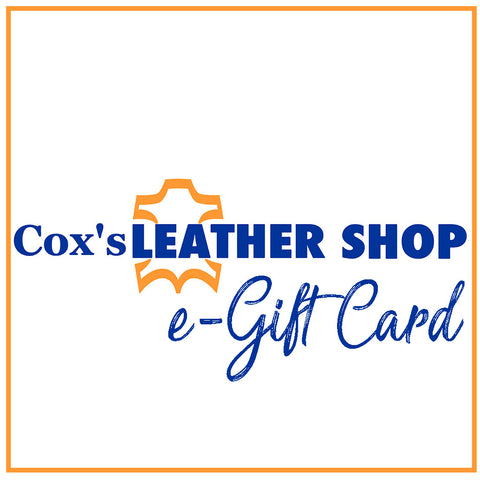 Cox's Leather Shop  e-Gift Card