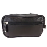 Rowallan Leather Wash Bag - Style: 33-9788 Black