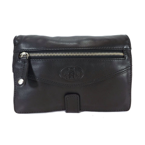 Rowallan Holborn Leather Gents Wrist Bag - Style: 31-9786 Black