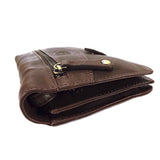 Rowallan Holborn Leather Gents Wrist Bag - Style: 31-9786 Brown