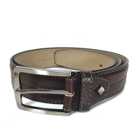 Gianni Conti Leather Belt - Style: 9405243 - Brown