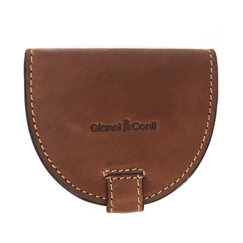 Gianni Conti Leather Tray Purse - Style: 917086