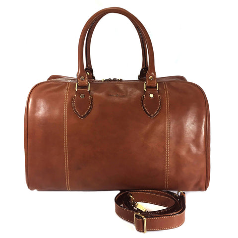 Gianni Conti Leather Travel Holdall - Style: 912294