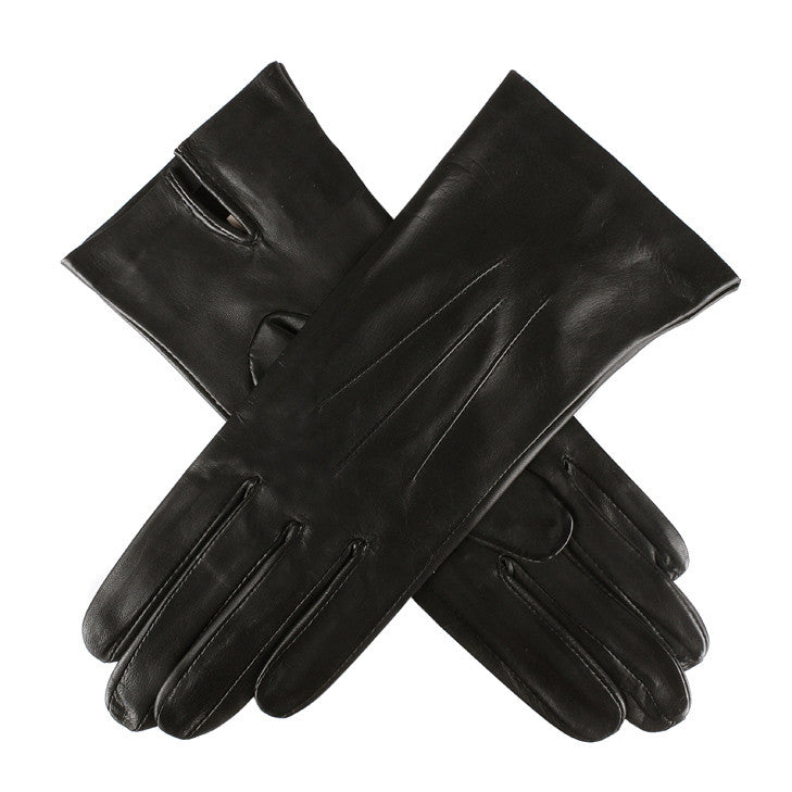 Dents Joanna Women's Unlined Classic Leather Gloves - Style: 7-0010 Black