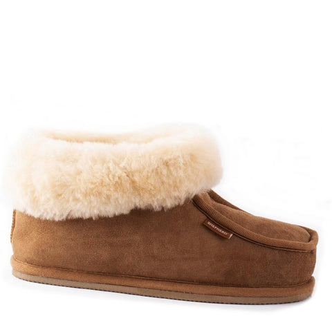 Shepherd Sheepskin Bootee Slipper - Style: Lena 422 Chestnut