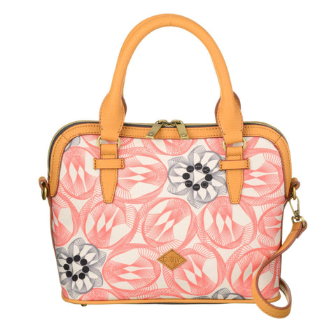 Oilily Grab Handle Multi Way Handbag - Pink Flamingo - OES7185