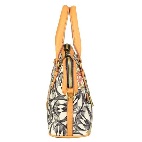 Oilily Grab Handle Multi Way Handbag - Charcoal - OES7185