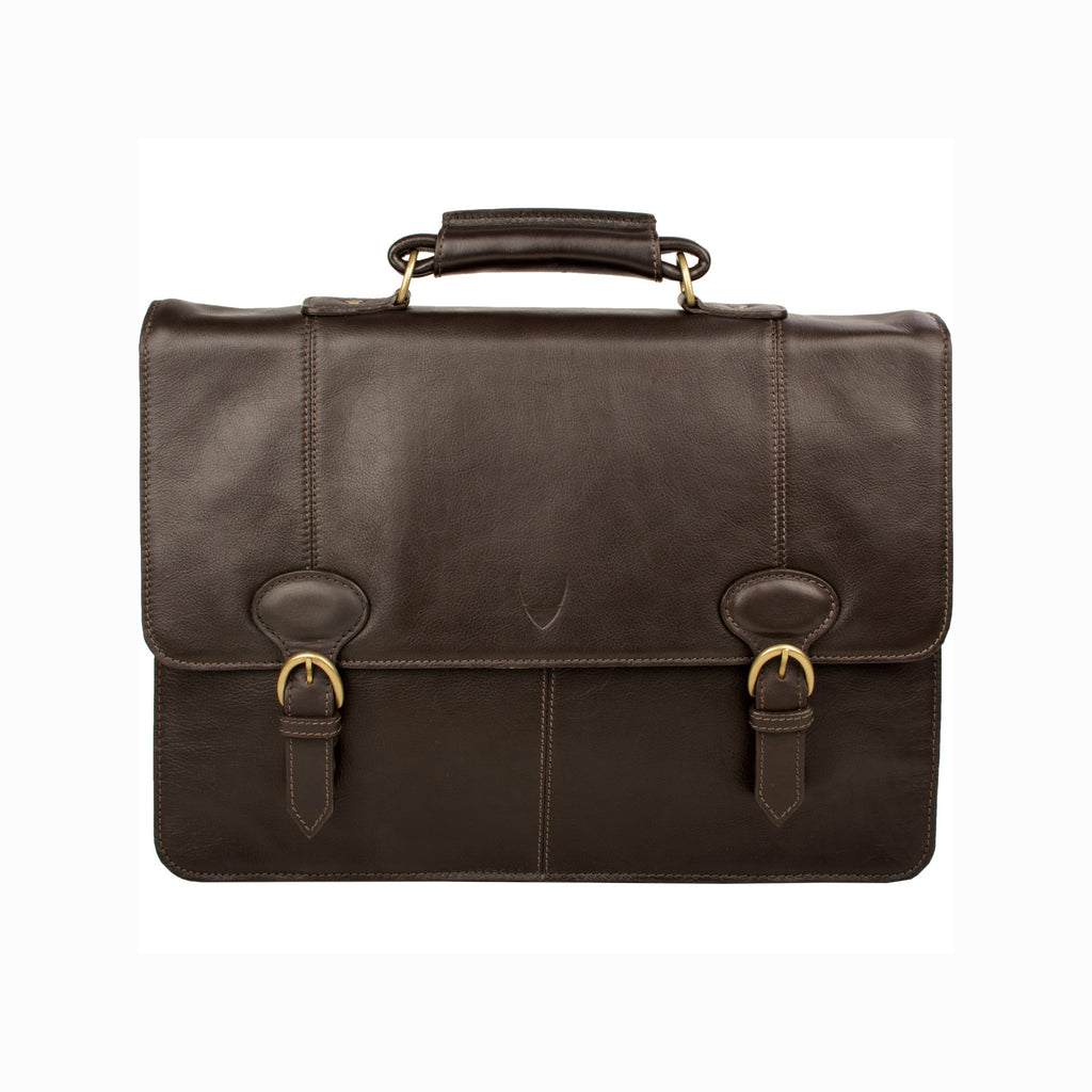 Hidesign 'Parker 3' Briefcase - Brown