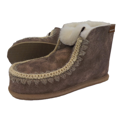 Shepherd Sheepskin Bootee Slipper- Style: Pia 419051 Antique Creme