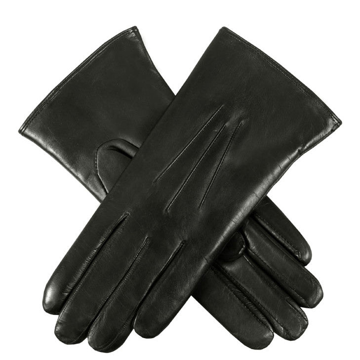 Dents Ripley Women's Coney Fur Lined Leather Gloves - Style: 17-1061