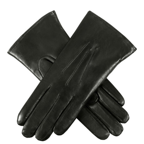 Dents Ripley Women's Coney Fur Lined Leather Gloves - Style: 171061